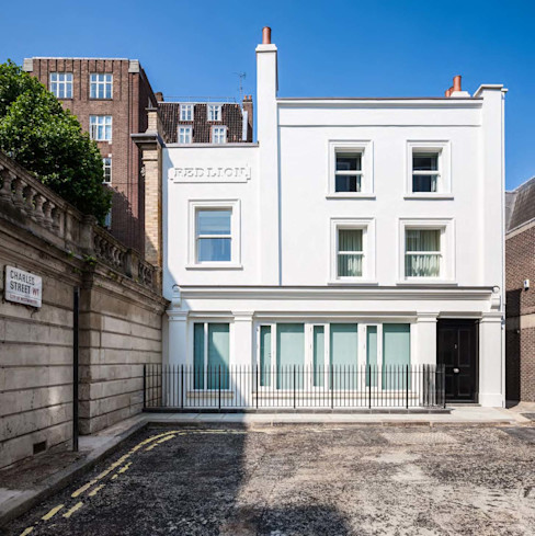 Mayfair House Squire and Partners Modern houses