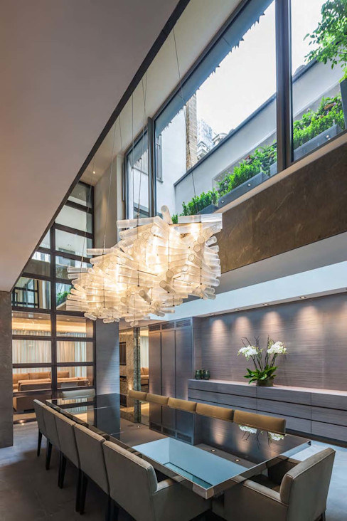 Mayfair House Squire and Partners Modern kitchen