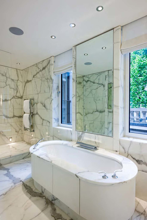 Mayfair House Squire and Partners Modern bathroom