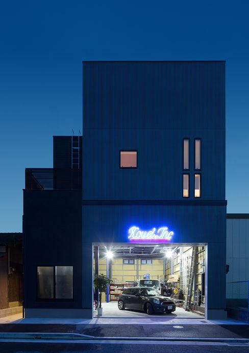 一級建築士事務所 馬場建築設計事務所 Modern houses Iron/Steel Black