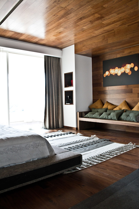 Proyectos studio Roca STUDIOROCA Moderne Schlafzimmer
