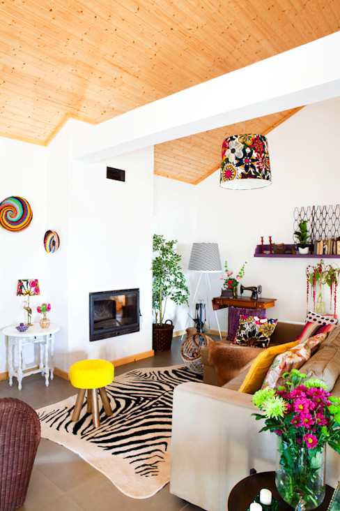 Casa Borba Spacemakers Modern living room