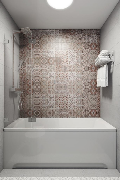 Дизайн студия Алёны Чекалиной Modern style bathrooms