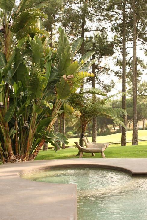 CASA . Quinta do lago COISAS DA TERRA Jardins ecléticos