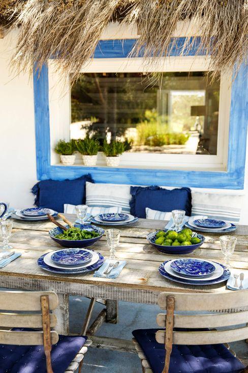 Grestel, SA Dining roomCrockery & glassware Ceramic Blue