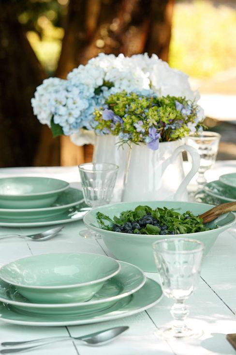 Grestel, SA Dining roomCrockery & glassware Ceramic Turquoise