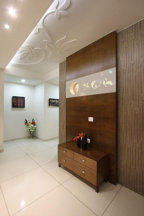 SAKET SPACEPLUS Living roomTV stands & cabinets Wood Brown