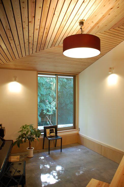 奏でるsumai 一級建築士事務所アトリエ樫 モダンデザインの 書斎