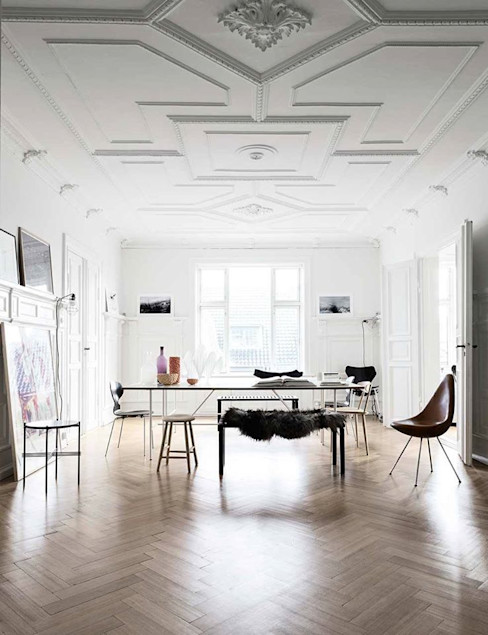 Espacios decorados by Wallart CUSTOMS handmade Paredes y suelos de estilo moderno