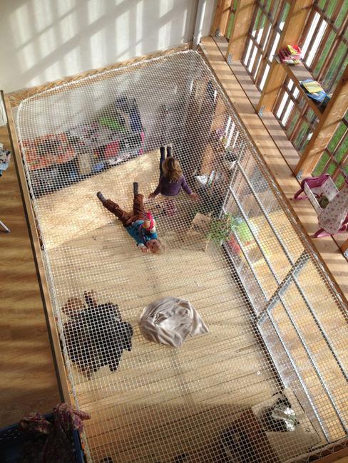 Mini/Maxi LAUS architectes Jardin d'hiver rural