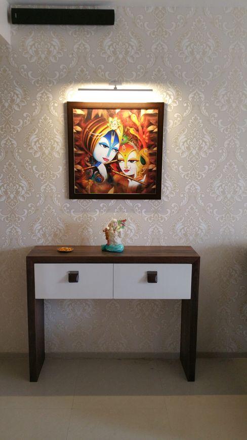 Designer Console Alaya D'decor Living room Plywood Wood effect