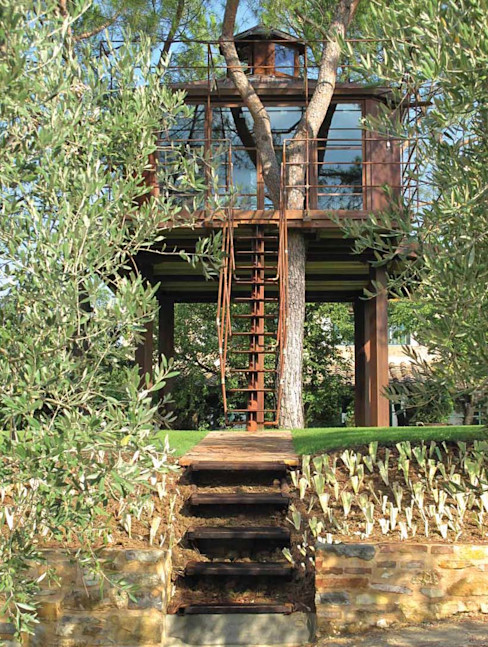Casa sull'albero - Tree House Riccardo Barthel Case moderne
