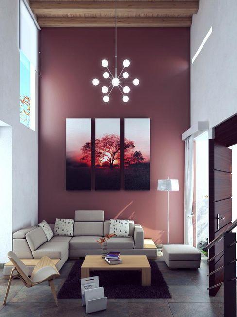 alfa studio arquitectura اتاق نشیمن