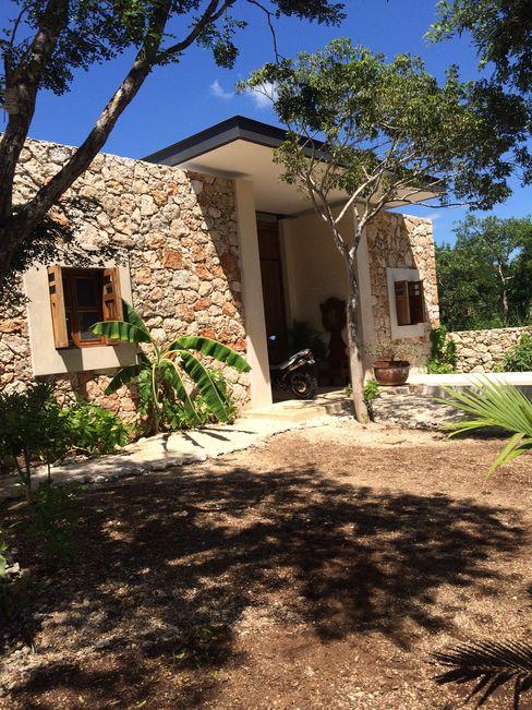 Fachada Principal Degetau Arquitectura y Diseño Casas tropicales