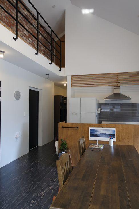 아키제주 건축사사무소 現代廚房設計點子、靈感&圖片