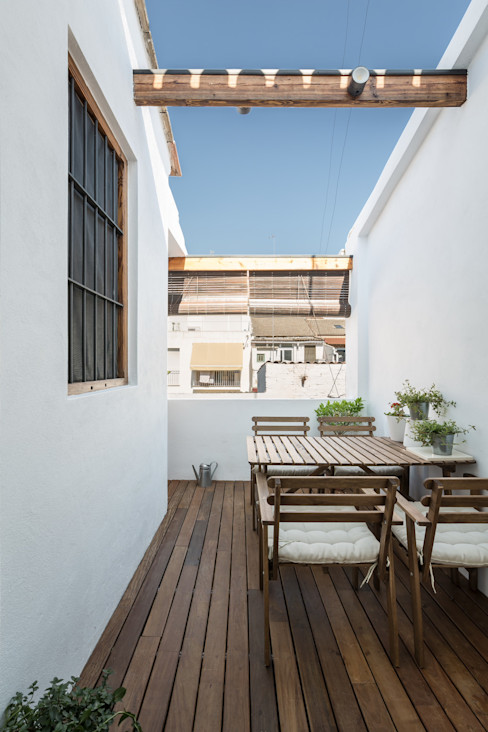 amBau Gestion y Proyectos Modern Terrace