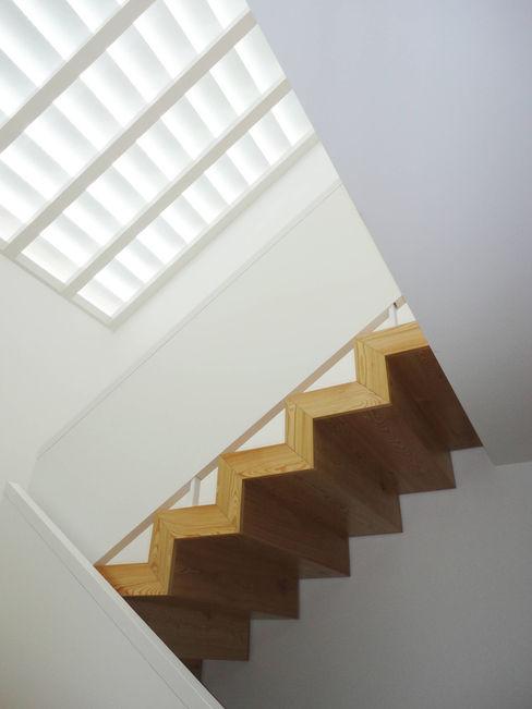 GAAPE - ARQUITECTURA, PLANEAMENTO E ENGENHARIA, LDA Pasillos, vestíbulos y escaleras de estilo ecléctico