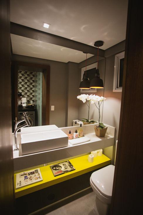APARTAMENTO GS114 Aquadrado Arquitetura Banheiros modernos