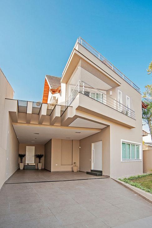 Patrícia Azoni Arquitetura + Arte & Design Maisons modernes Beige