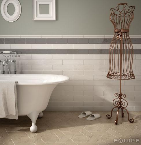 Equipe Ceramicas 現代浴室設計點子、靈感&圖片 陶器