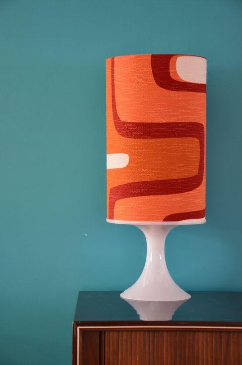 Tuchfühlung SalasIluminación Textil Naranja