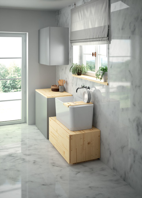 Melissa vilar KitchenSinks & taps Ceramic White