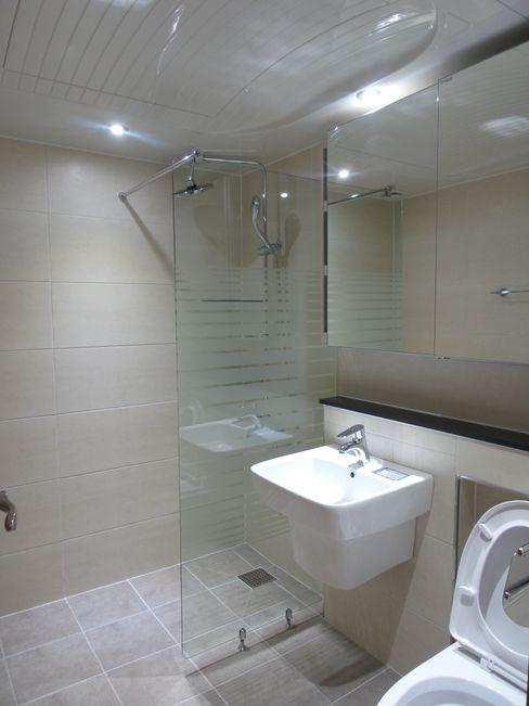 상봉 LG쌍용아파트 27PY 디자인 컴퍼니 에스 모던스타일 욕실