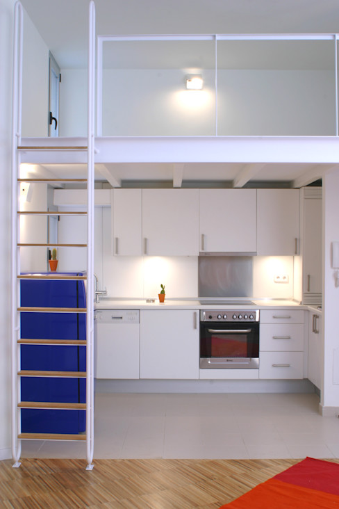 Beriot, Bernardini arquitectos Modern Kitchen