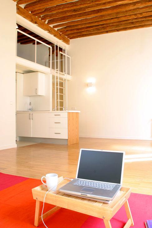 Beriot, Bernardini arquitectos Modern Living Room