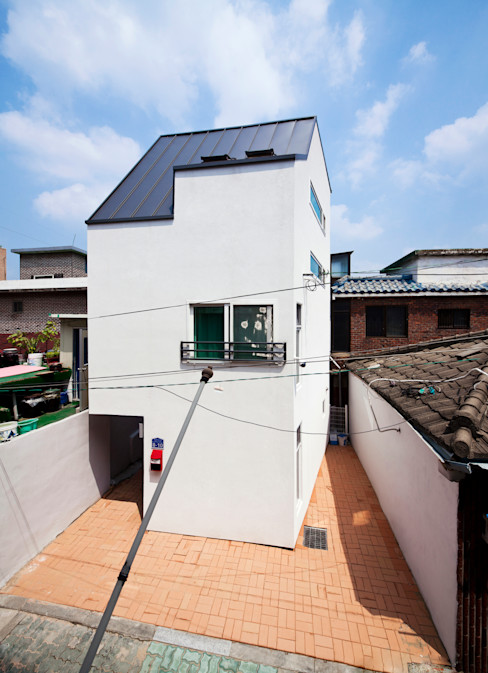 토맥건축사사무소 Casas modernas