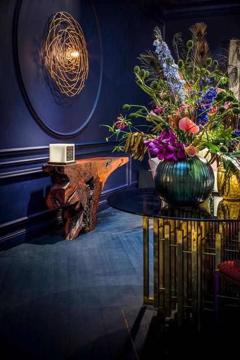 Blue Corridor Ethnic Chic - Home Couture Klassieke gangen, hallen & trappenhuizen