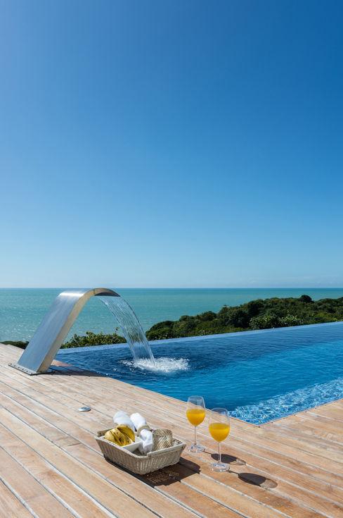 WR House Renata Matos Arquitetura & Business 泳池 Blue