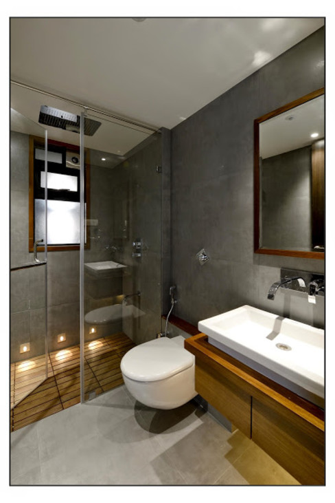 Artek-Architects & Interior Designers Modern Bathroom