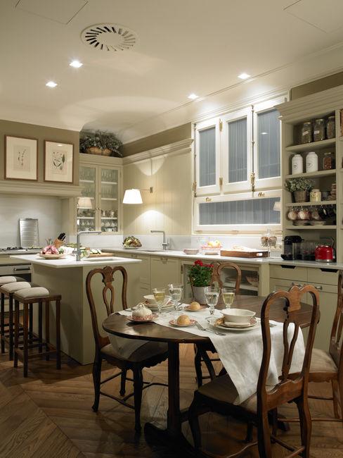 DEULONDER arquitectura domestica Cozinhas clássicas Bege
