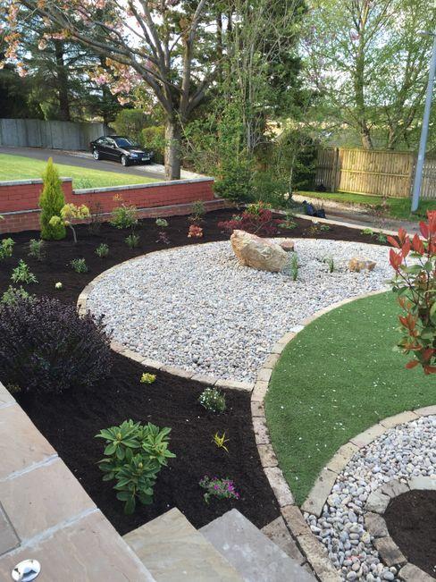A Yin Yang Garden Anne Macfie Garden Design Minimalist style garden