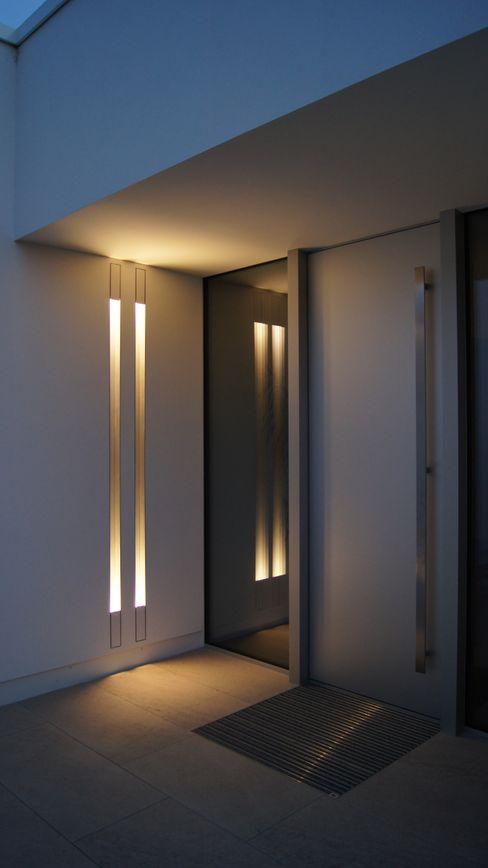 Diemer Architekten Part. mbB Fenêtres & Portes modernes Métal