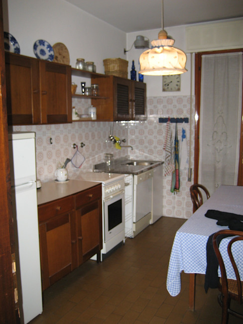 cristina mecatti interior design Cocinas de estilo clásico