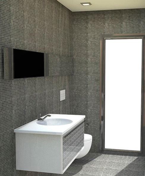 NUÑO ARQUITECTURA ห้องน้ำ เซรามิค Black