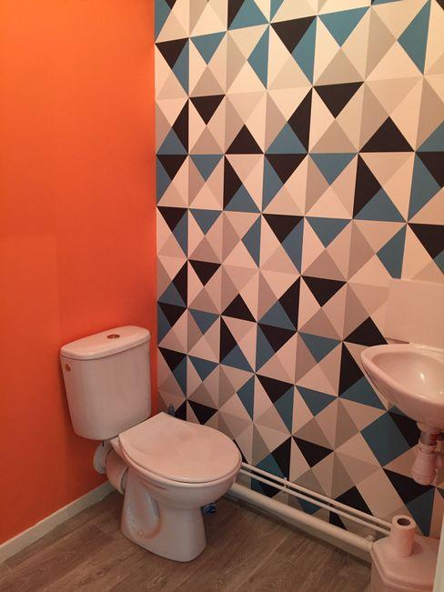 WC Mint Design Salle de bain originale Orange