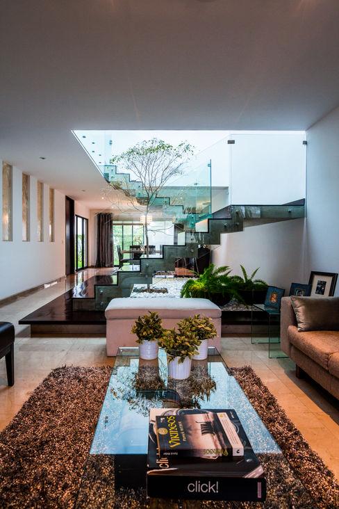 aaestudio Salas de estar modernas