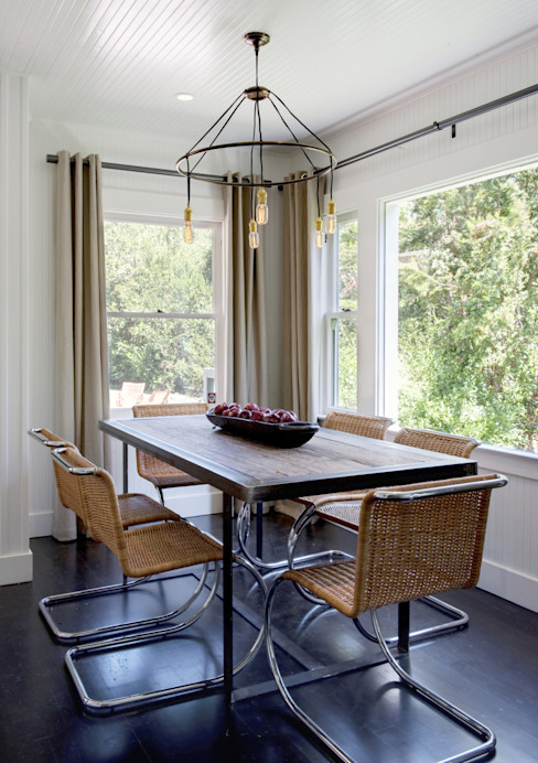 Antonio Martins Interior Design Inc Eclectic style dining room