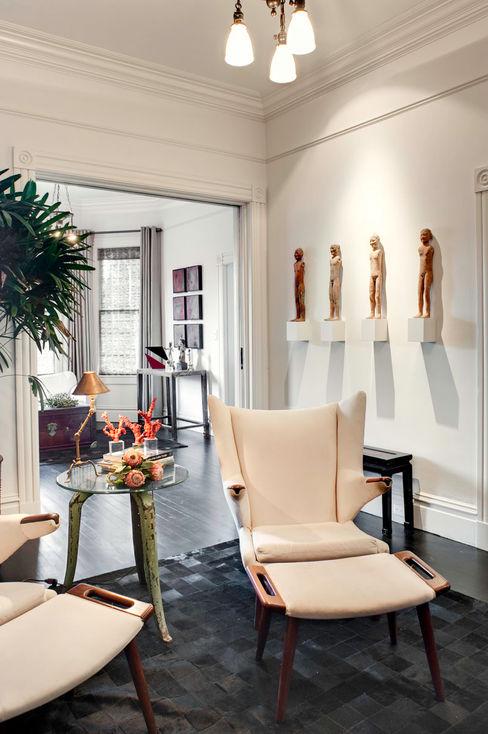 Antonio Martins Interior Design Inc Eklektyczny salon
