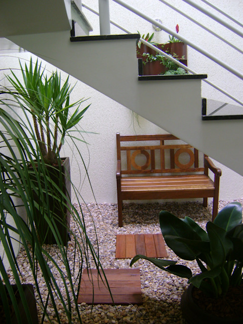 MC3 Arquitetura . Paisagismo . Interiores Jardines de invierno de estilo moderno