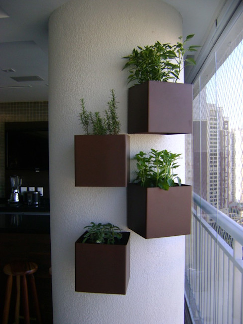 MC3 Arquitetura . Paisagismo . Interiores Minimalist style garden