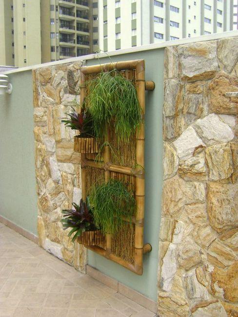 MC3 Arquitetura . Paisagismo . Interiores Rustic style garden