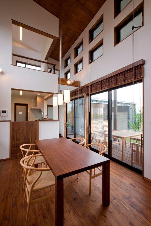 空間設計室/kukanarchi Modern Dining Room