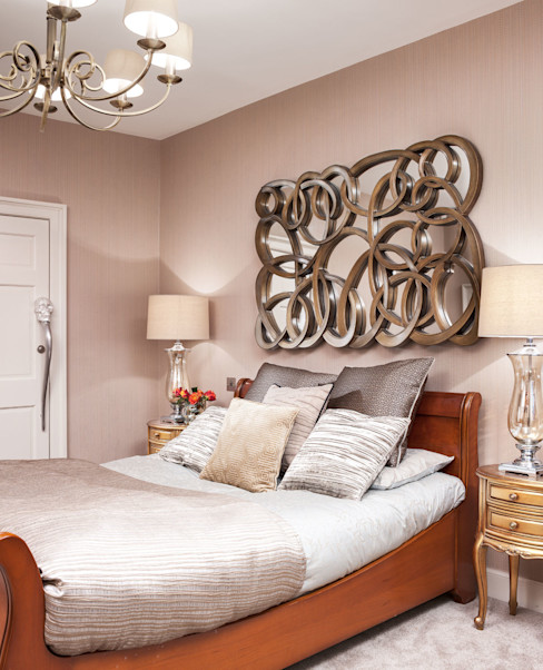 Edinburgh Town House Neale Smith Photography Eclectic style bedroom