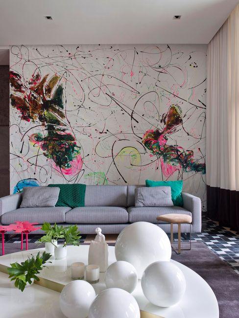 SA&V - SAARANHA&VASCONCELOS Modern Living Room