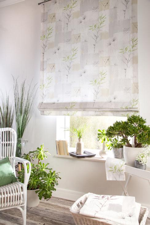 Indes Fuggerhaus Textil GmbH Windows & doors Curtains & drapes Tekstil Green