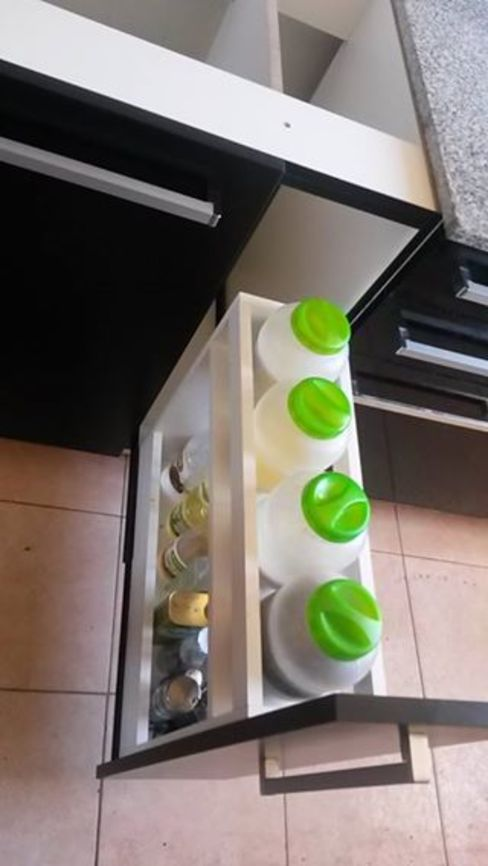 Cajon botellero / especiero X Design Muebles CocinasEstanterías y despensas